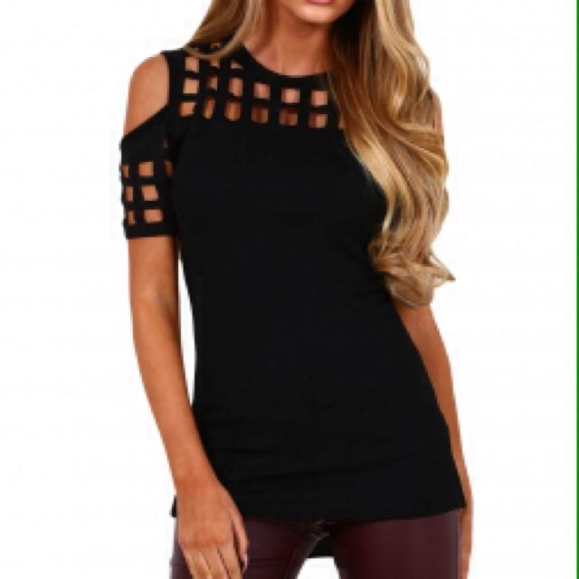 Cage Style Top