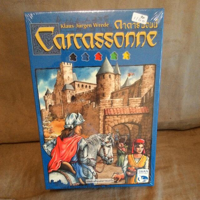 桌遊~卡卡頌carcassonne