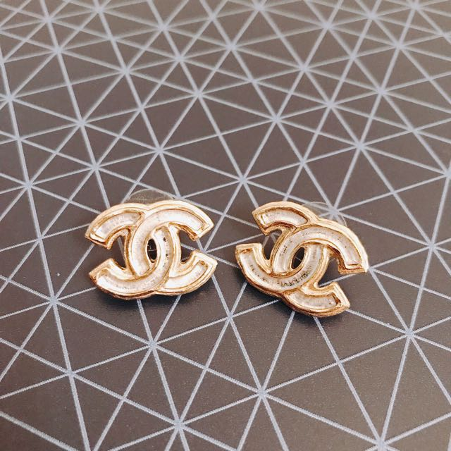 Chanel Large CC Studs