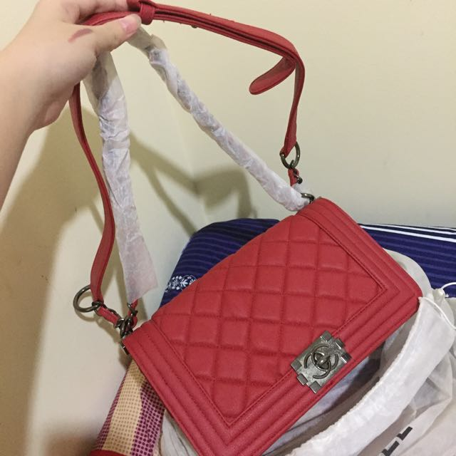 Channel Bag Tas Murah Merah