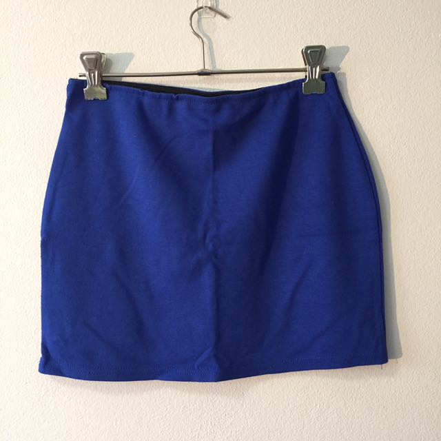 Chicabooti Blue Mini Skirt