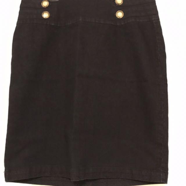 City Chic Denim Skirt