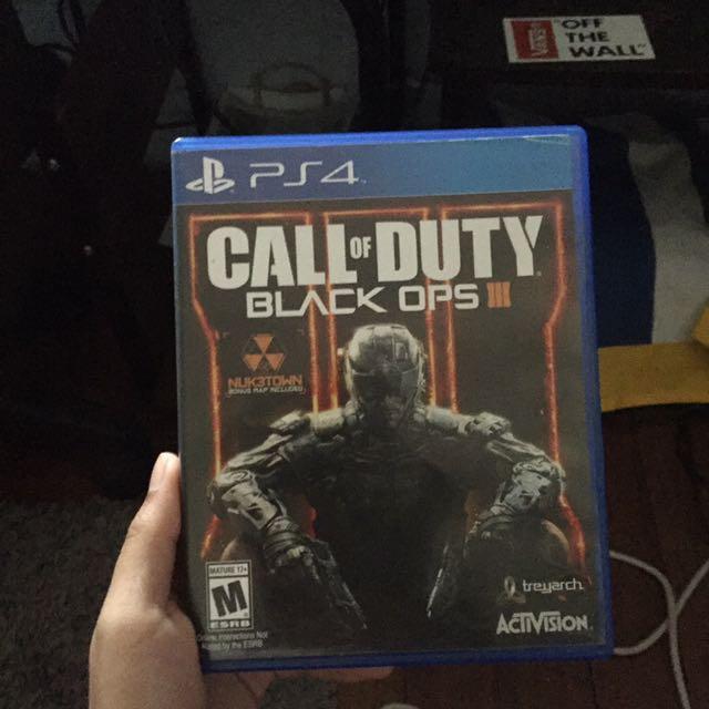 COD: Black Ops III (PS4)