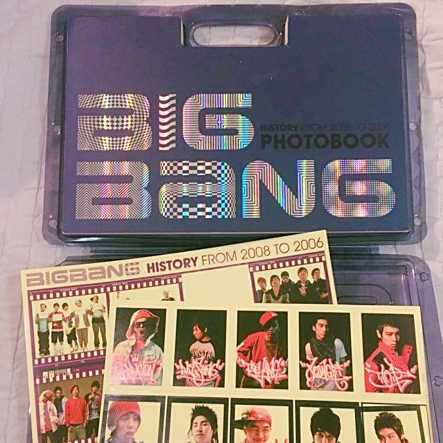 Collectable BIG BANG 1ST PHOTOBOOK 2008 To 2006