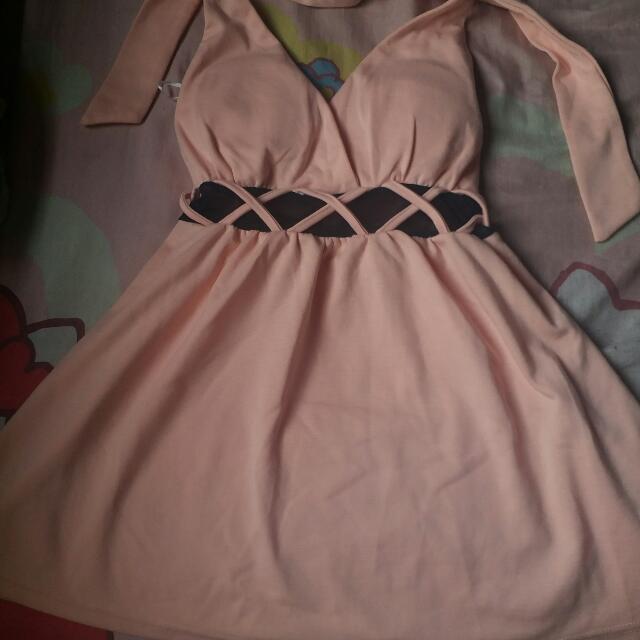 Color Peach Dress