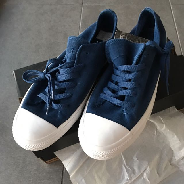 Converse Chuck Taylor Sawyer Suede Ox Midnight Hour Navy Blue UK 9