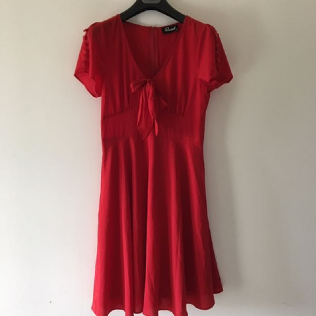 Dangerfield Red Cocktail Dress