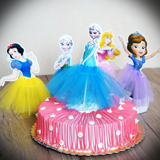 Stupendous Disney Princess Frozen Sophia Snow White Tutu Dress Children Personalised Birthday Cards Akebfashionlily Jamesorg