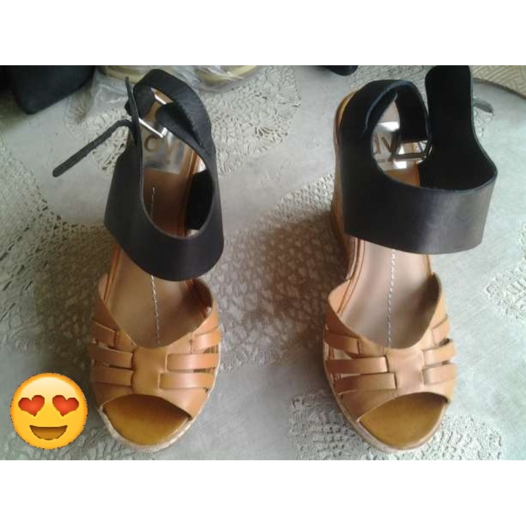 Dolce Vita Leather (Shoes) Heels Wedge