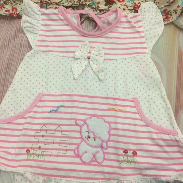 Salee.... Dress Anak 6m ( Muat Smpe 1 Tahun )