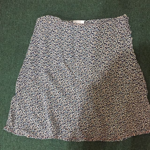 esprit floral skirt