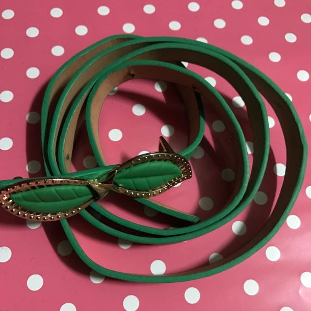 Fashionable Green Belt