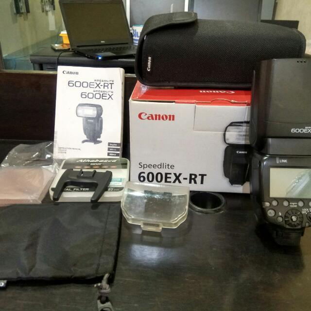 Flash Canon Speedlite 600EX-RT ORI