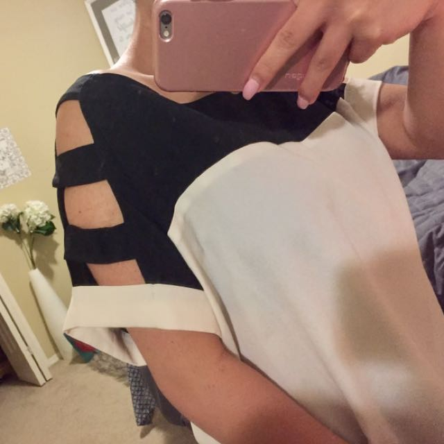 Forever 21 Cutout Top