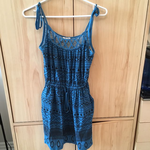 Forever 21 Small Blue Dress