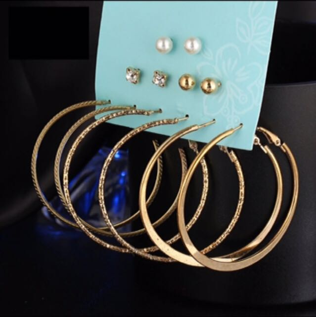 FREE ONGKIR ANTING forever 21 CLAIRES||