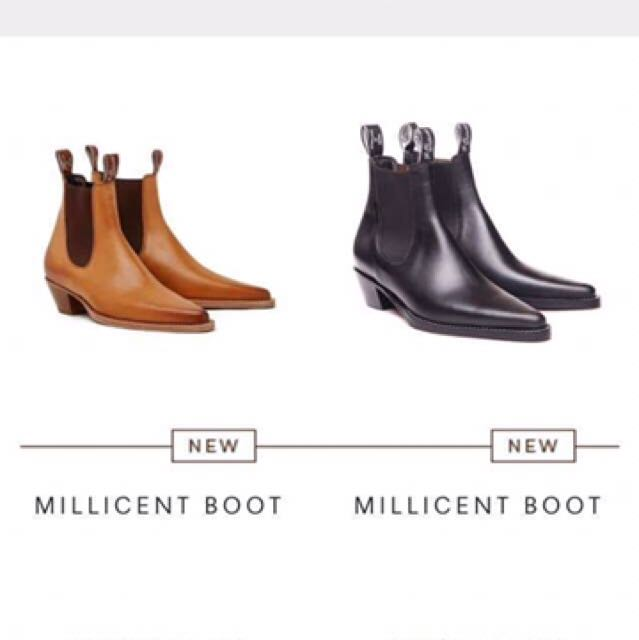 Genuine Rm Williams Millicent boots