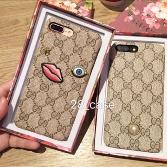 hot sale online 82e96 2d66e Gucci Phone Case, Luxury, Accessories on Carousell