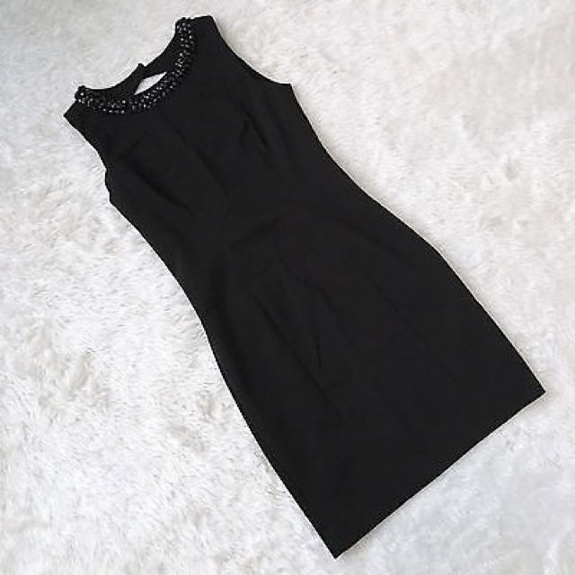 H&M Black Party Dress Bodycon