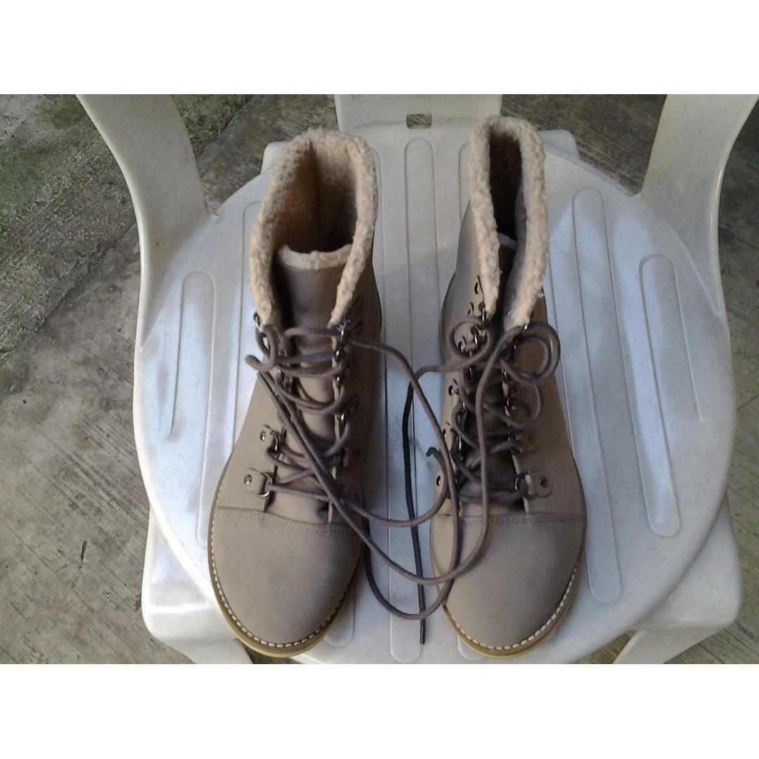 H&M Canvass Shoes Boots