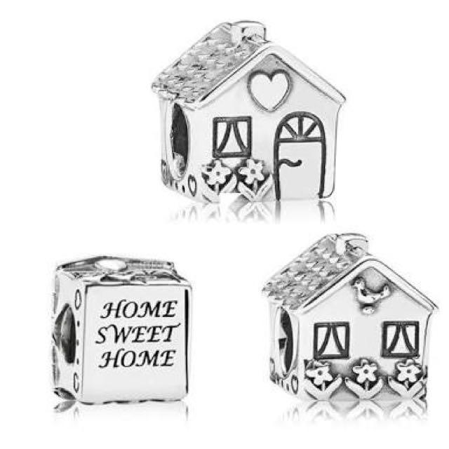 Home Sweet Home Silver Charm - PANDORA