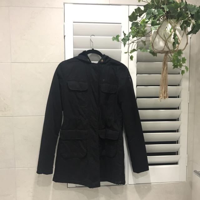 Hooded winter coat/jacket