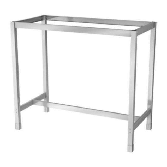 Ikea utby underframe high table leg home furniture - Ikea bartisch ...