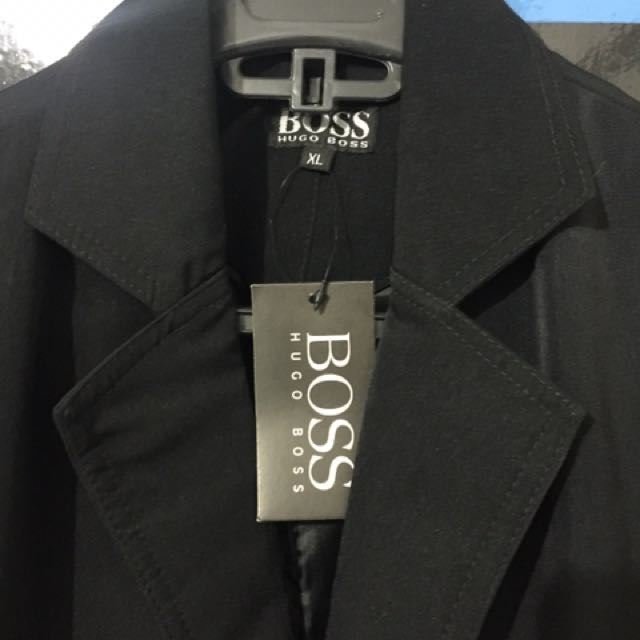 Jas Hitam HUGO BOSS