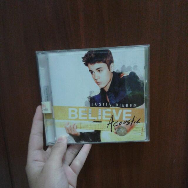 Justin Bieber 'believe acoustic'