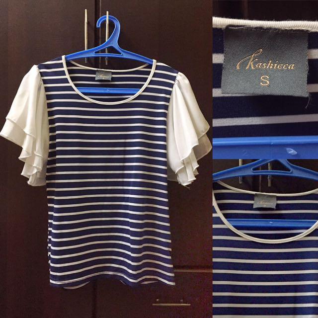 Kashieca Stripes Top