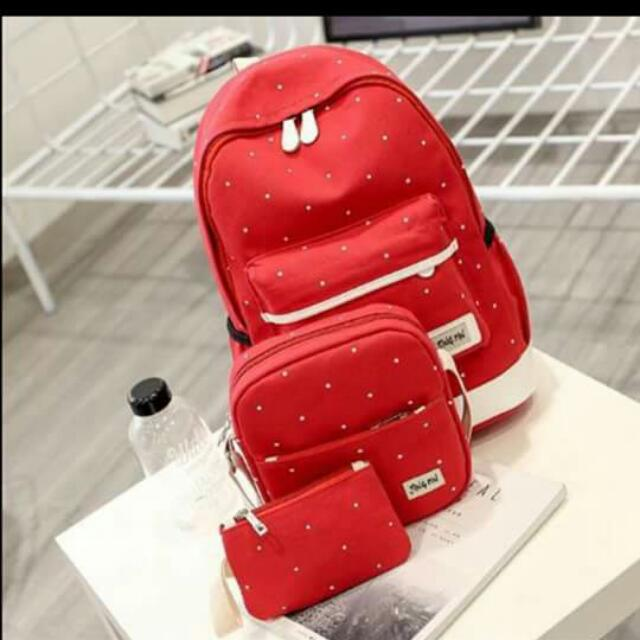 Korean 3in1 Backpack