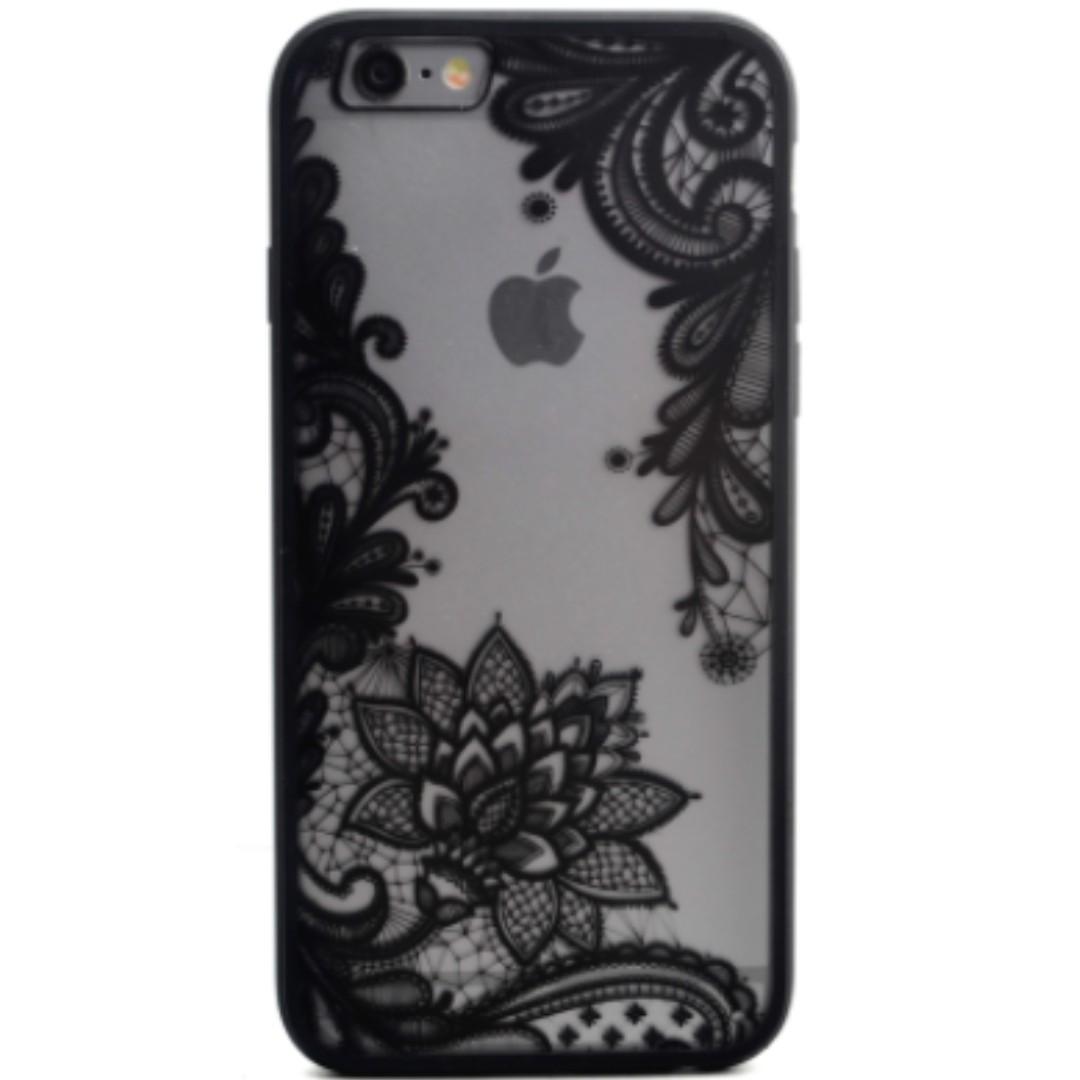 lace flower case