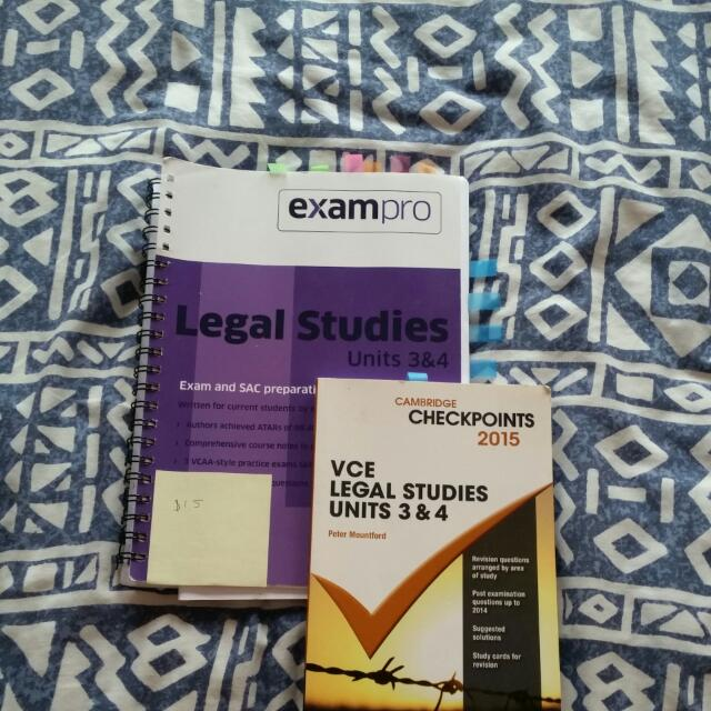 Legal STUDIES 3/4