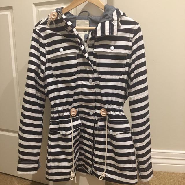 Levi Strauss & Co Striped Jacket - Medium