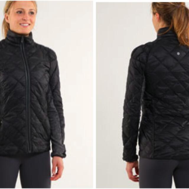 ac04bf506 Lululemon Run Turn Around Down Jacket -Reversible , Women's Fashion ...