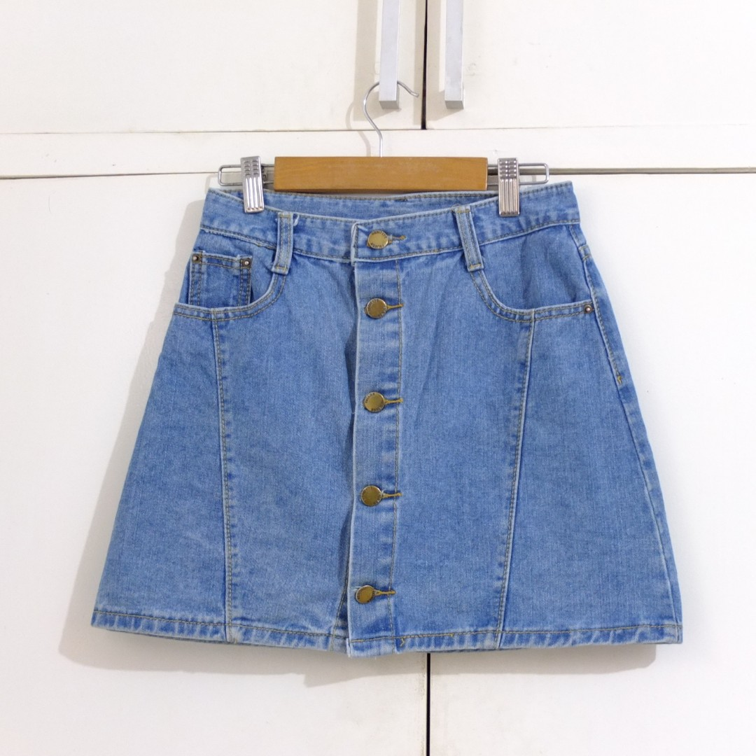 Maong Jeans Skirt Size Small
