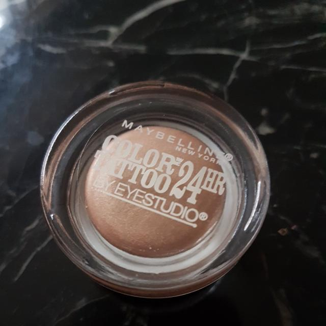 Maybelline Color Tattoo Creme Shadow In Bad To The Bronze