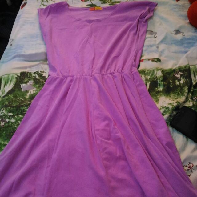 Medium Purple Dress