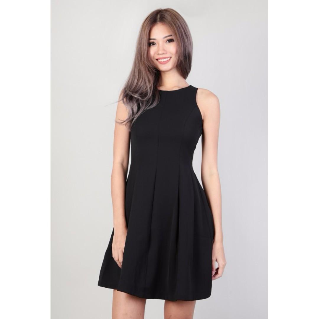3bdae7db65 MGP Label Jacinthe Flare Dress in Black