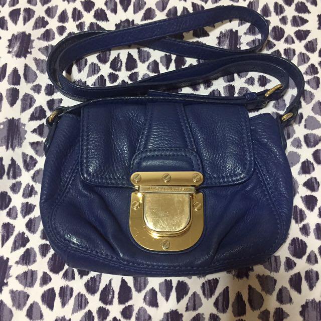 Michael Kors Leather Sling Bag