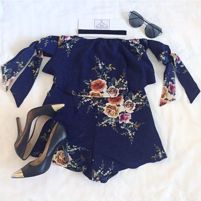 """Midnight Mystery"" Playsuit Set"