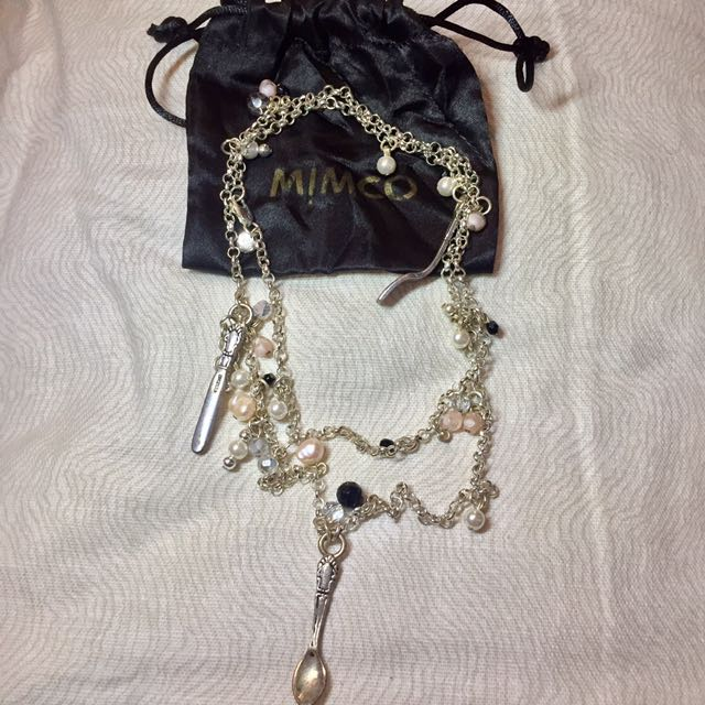 Mimco Detailed Necklace