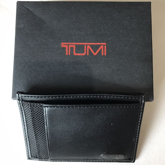 NEW! Authentic Tumi Alpha Money Clip Card Case