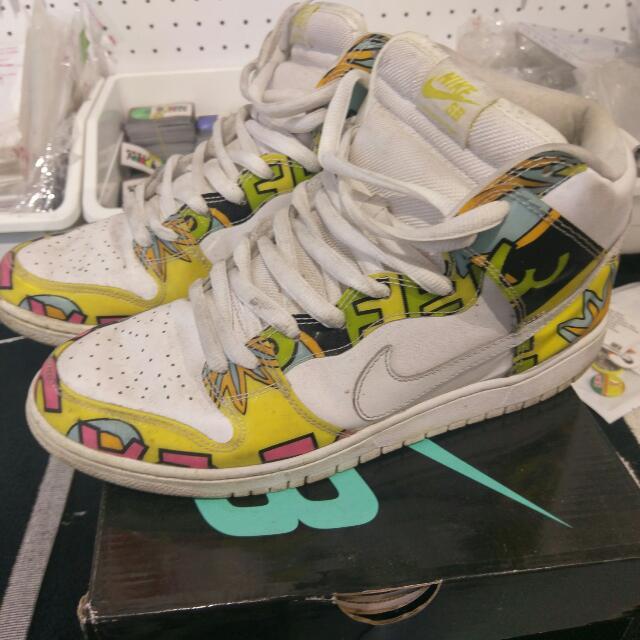 Nike Dunk SB De La Soul 高筒 US10.5 #二手品牌好鞋
