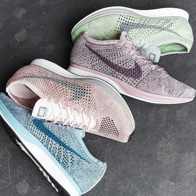 0a3d68a82f0 🎉 SALE 🎉 Nike Flyknit Racer Macaron Pack