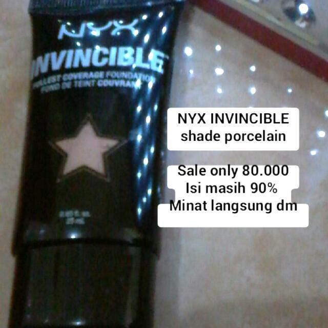 NYX INVINCIBLE FOUNDATION