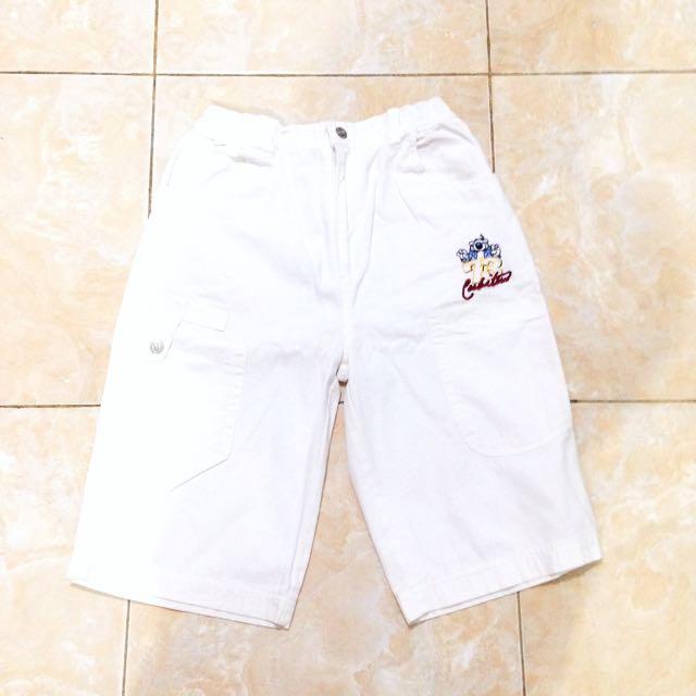 Original Cubitus White Pants