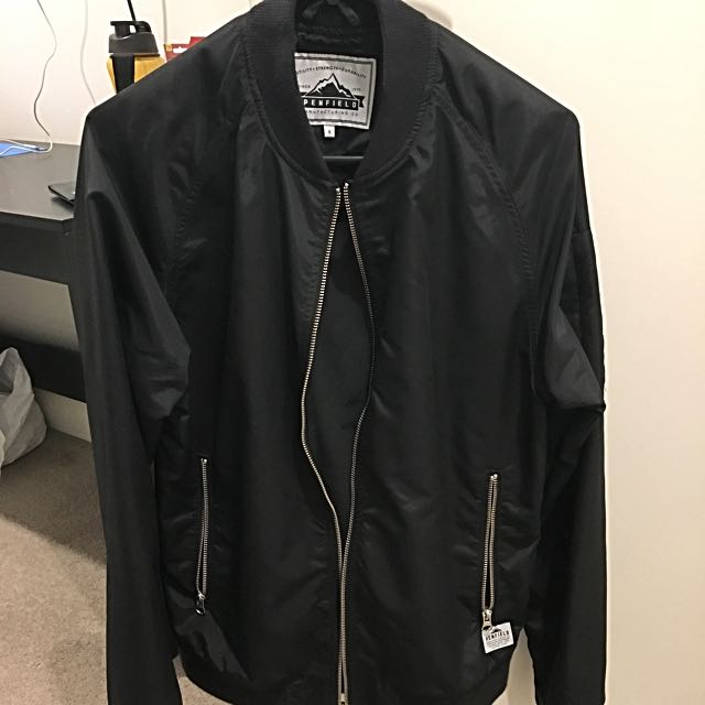 Penfield Okenfield Black Bomber Jacket