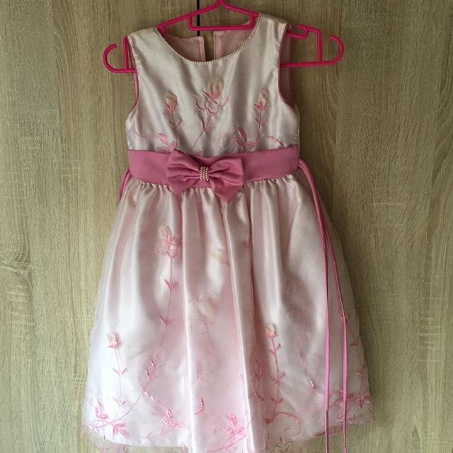 PINK PARTY DRESS FOR KIDS