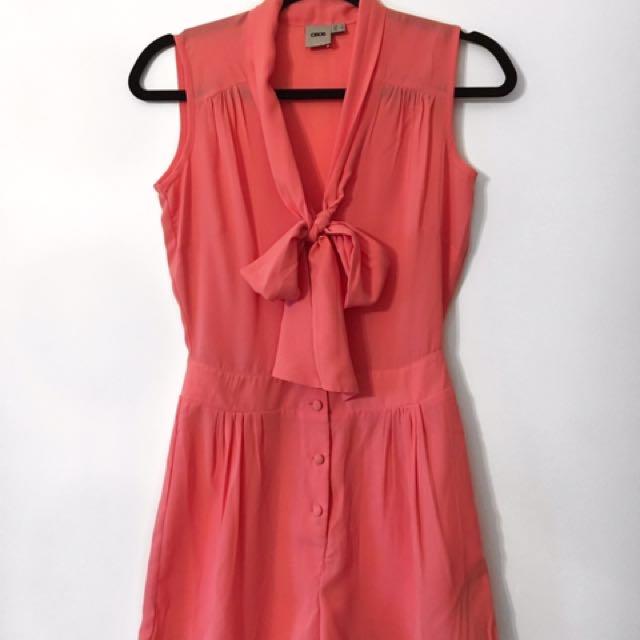 Pink Romper [ASOS]